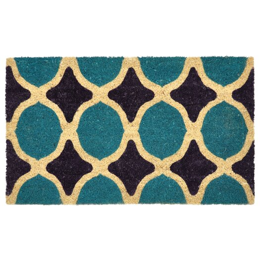 Kosas Home Gabriella Geometric Doormat