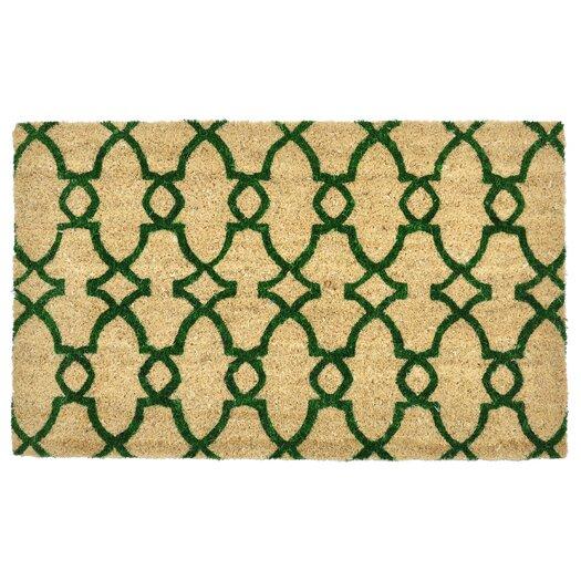 Kosas Home Trinity Geometric Doormat