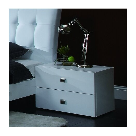 Creative Furniture Scarlet 2 Drawer Nightstand
