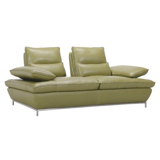 Creative Furniture Naomi Leather Loveseat