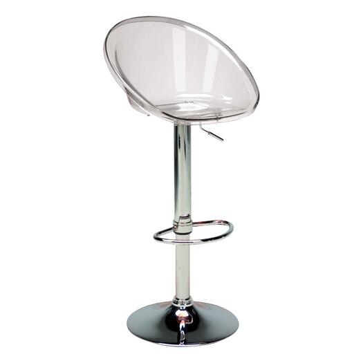 Sphere Adjustable Height Swivel Bar Stool (Set of 2)