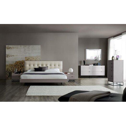 Plano Platform Customizable Bedroom Set