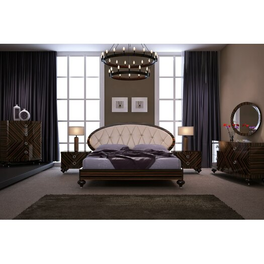 Delia Platform Customizable Bedroom Set