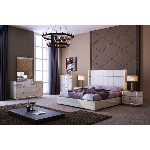 Elsa Platform Customizable Bedroom Set