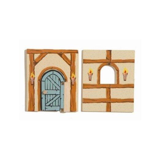 Le Toy Van Edix the Medieval Village Barn Walls