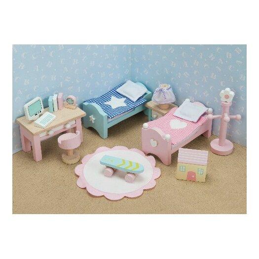 Le Toy Van Daisylane Dollhouse Children's Bedroom Set