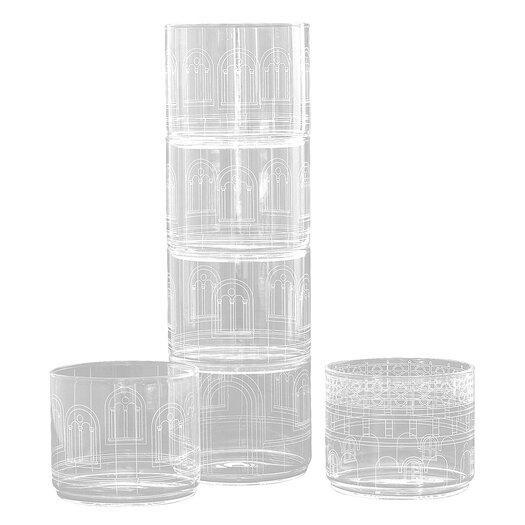 Seletti Palace Chiara Torre6 Piece Glass Set