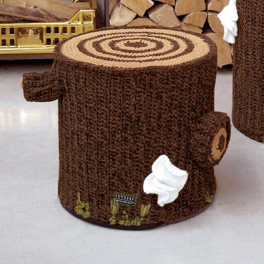 """Seletti Bosque 15"""" Crocheted Cotton Seating"""