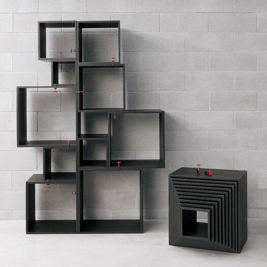 Seletti Assemblage 10 Piece Cube Unit Set Bookcase