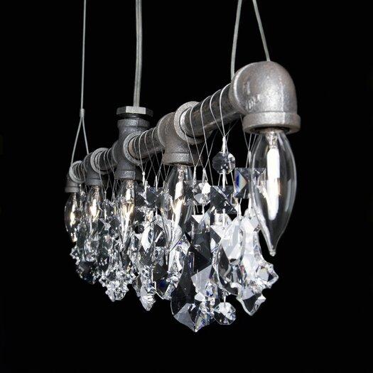 Michael McHale Designs Tribeca 5 Light Bar Chandelier