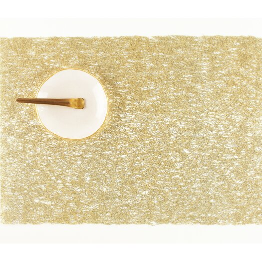 Chilewich Metallic Lace Rectangle Placemat