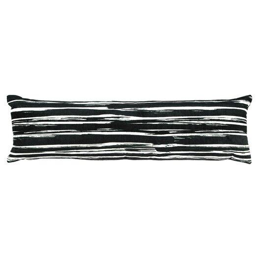 Cielo Brush Stroke Lumbar Pillow