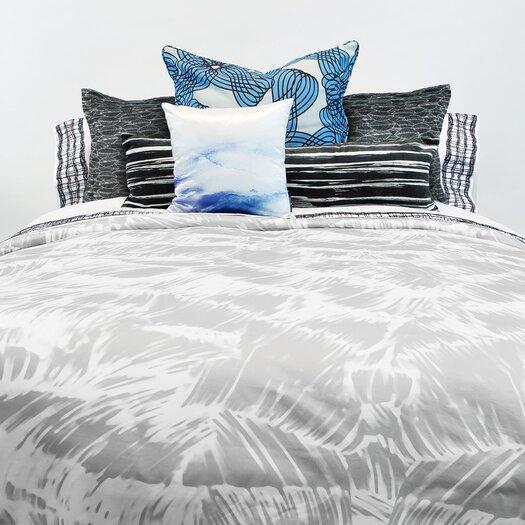 Lorena Gaxiola Cielo Brush Stroke Lumbar Pillow
