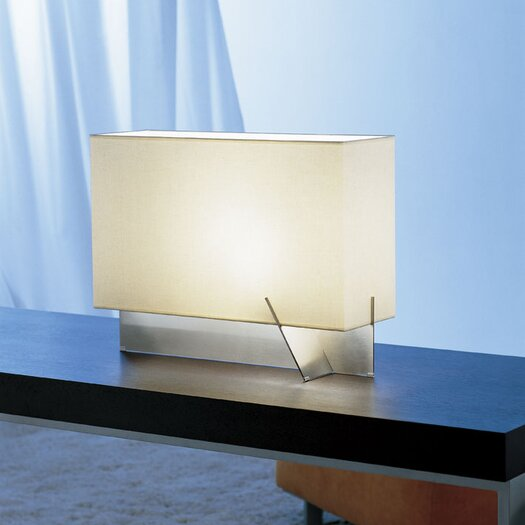 Carpyen Nairobi 15 H Table Lamp With Rectangular Shade