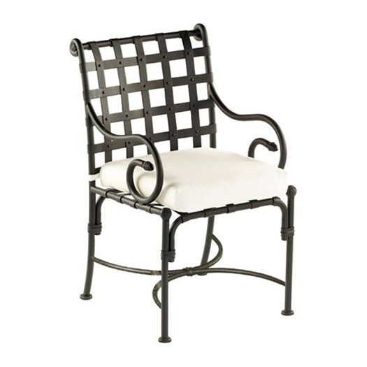 Sifas USA Kross Dining Arm Chair with Cushion
