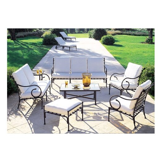 Sifas USA Kross 7 Piece Deep Seating Group with cushions