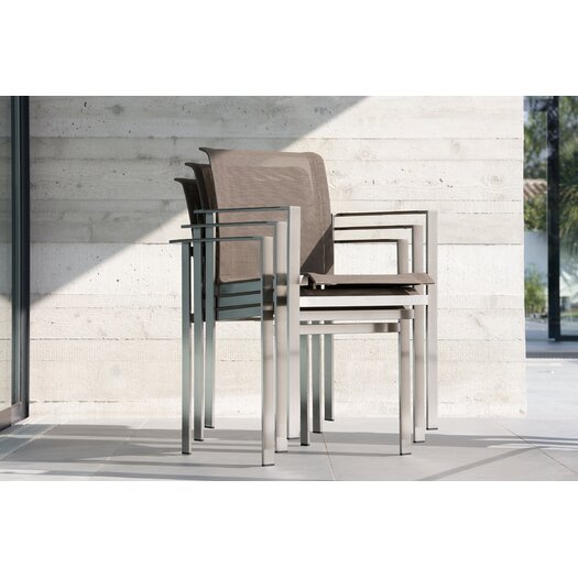Sifas USA Ec-Inoks Dining Arm Chair