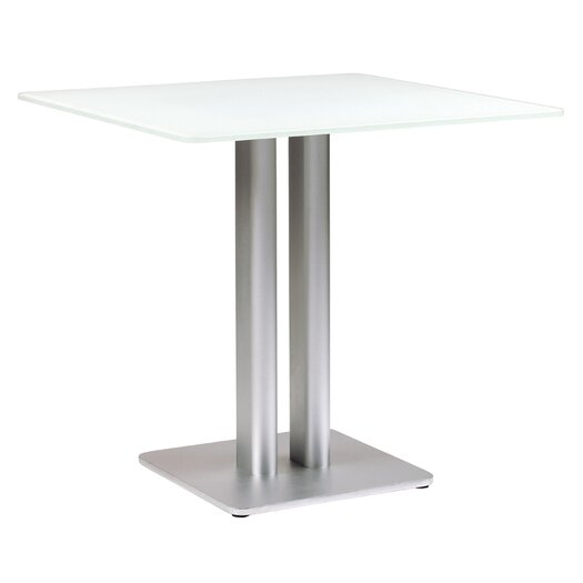 Oskar Square Glass Dining Table