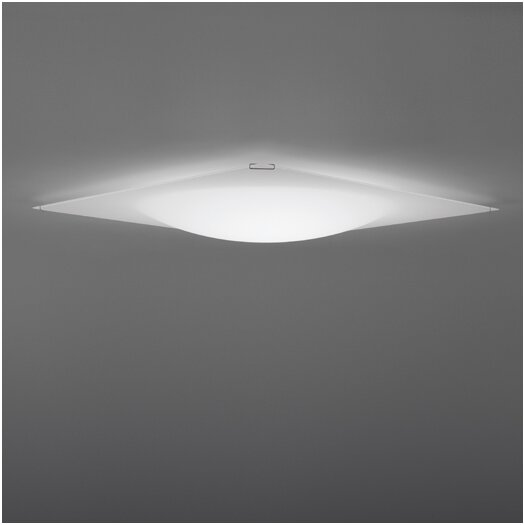 Vibia Quadra Ice 3 Light Flush Mount