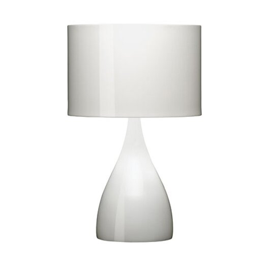 "Vibia Jazz 28.25"" H Table Lamp with Drum Shade"