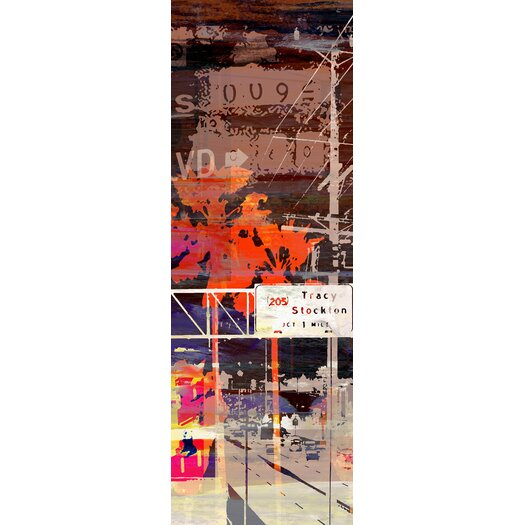 All Roads Lead to LA 3 Piece Graphic Art on Wrapped Canvas Set
