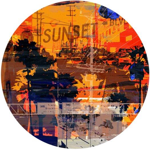 Sunset Blvd 1 Graphic Art