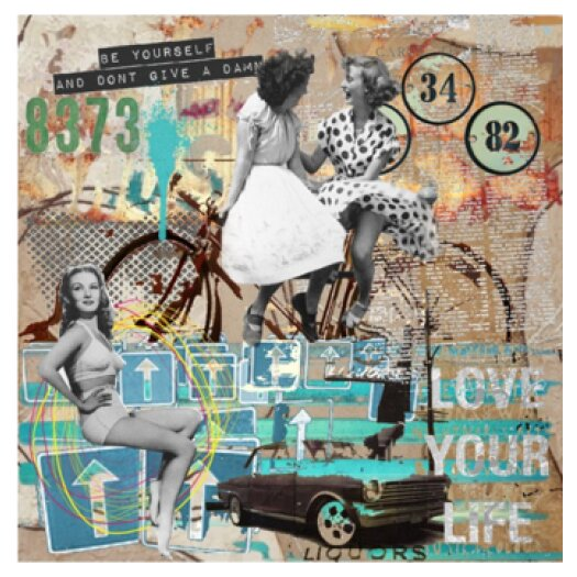 Love Your Life Giclee Graphic Art on Canvas