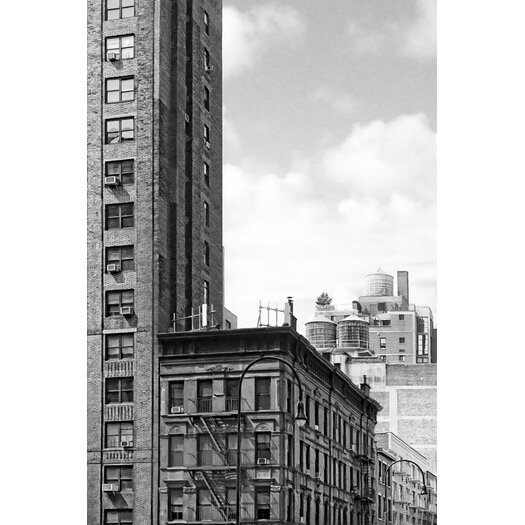 Timeless New York City Rooftops 7th Avenue Photographic Print