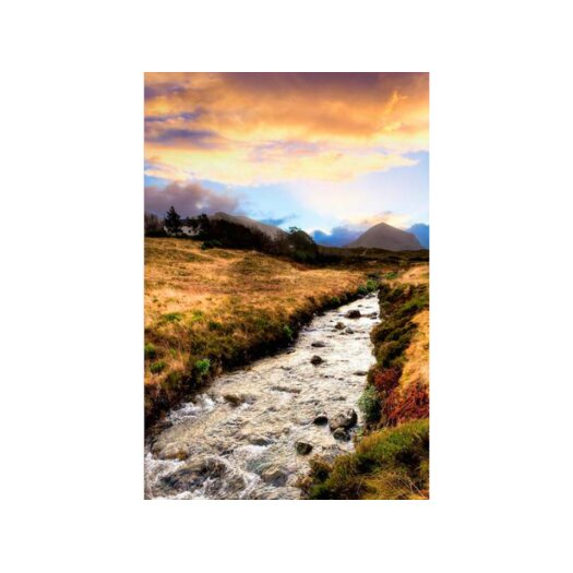 Faerie Lands Beautiful Morning on the Isle of Skye Photographic Print on Canvas