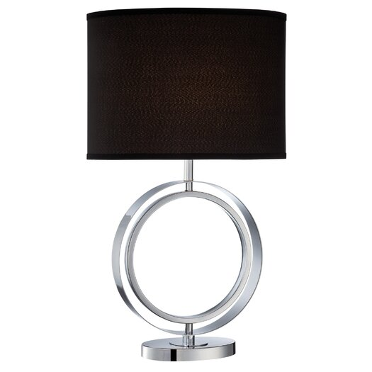 """Lite Source Cosima 27.5"""" H Table Lamp with Oval Shade"""