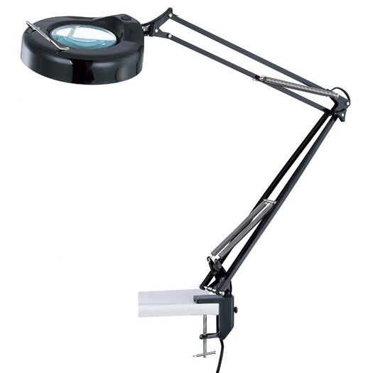 """Lite Source Magnify-Lite 40.5"""" H Table Lamp with Novelty Shade"""
