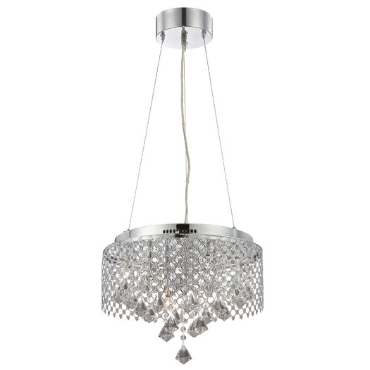 Lite Source Saturnus 9 Light Chandelier