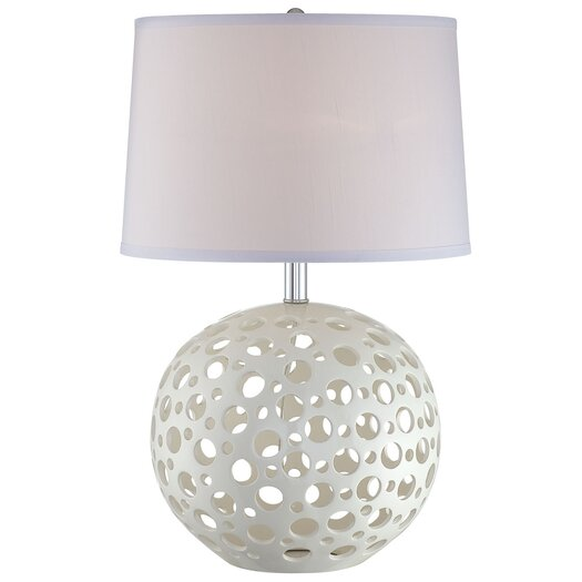 """Lite Source Finnian 23.5"""" H Table Lamp with Empire Shade"""