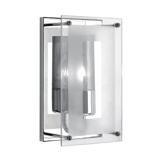 Lite Source Wick Wall Sconce 1 Light Flush Mount