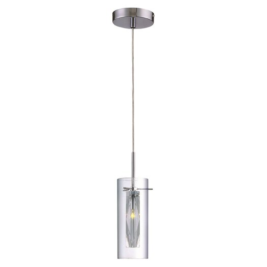 Lite Source CLARTÉ 1 Light Mini Pendant