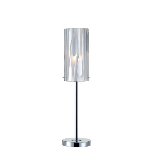 """Lite Source Liam 22"""" H Table Lamp with Drum Shade"""
