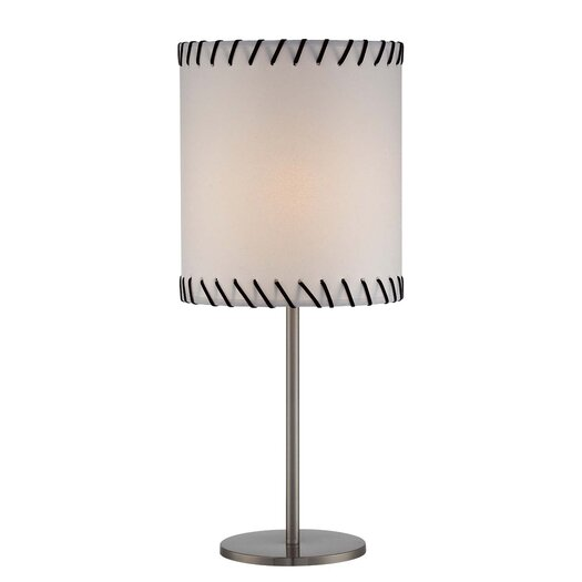 """Lite Source Lavina 23.5"""" H Table Lamp with Drum Shade"""