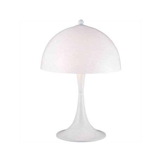 """Lite Source Pliant 23"""" Table Lamp with Bowl Shade"""