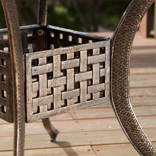 Home Loft Concepts Vigo Cast Aluminum Dining Set