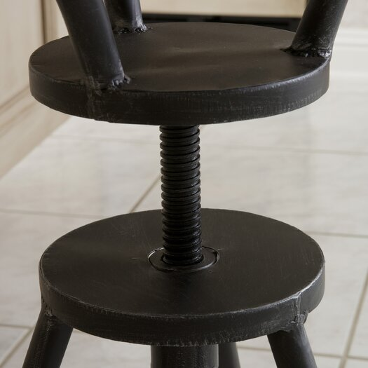 Home Loft Concepts Forston Adjustable Bar Stool