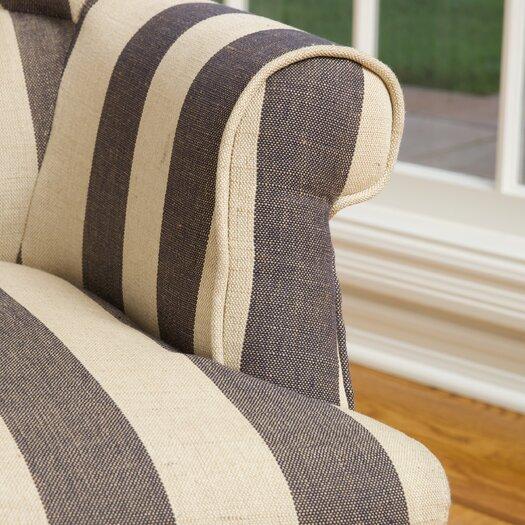 Home Loft Concepts Drake Stripe Lounge Chair