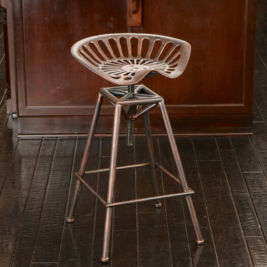 Home Loft Concepts Adjustable Height Bar Stool