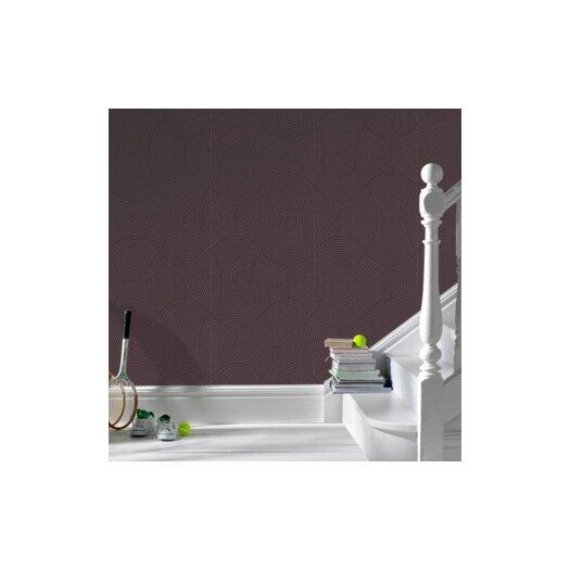 """Graham & Brown Ulterior 33' x 20.5"""" Geometric Embossed Wallpaper"""