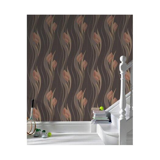 """Graham & Brown Serenity 33' x 20.5"""" Peace Embossed Wallpaper"""