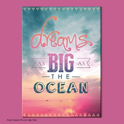 Dreamscapes Dreams As Big As the Ocean Graphic Art on Wrapped Canvas