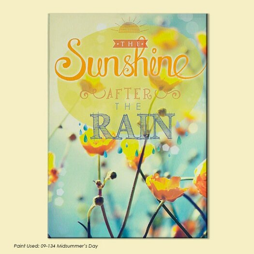 Dreamscapes Sunshine After the Rain Graphic Art on Wrapped Canvas