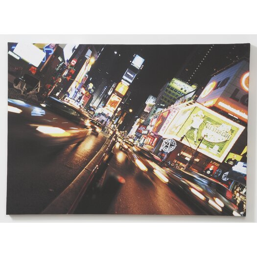 Graham & Brown Night Life Printed Canvas Art