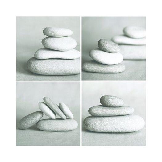Pebbles Quad Canvas Blocks