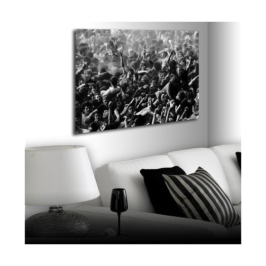 Graham & Brown The Mosh Pit Iii Canvas