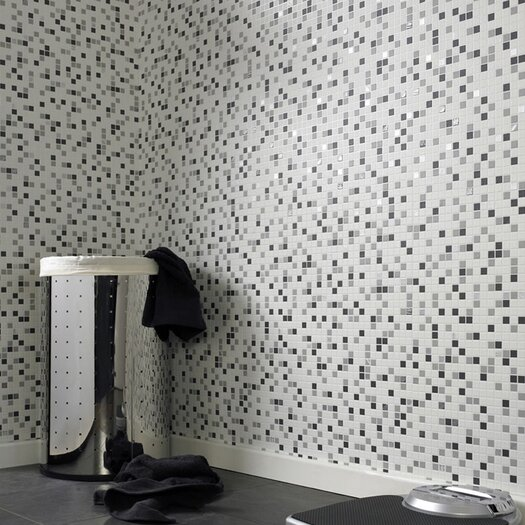 "Graham & Brown Contour Checker 33' x 20.5"" Geometric Embossed Wallpaper"